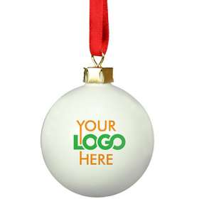 Product Image of Ceramic Christmas Baubles