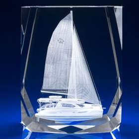 Chamonix Crystal Award Paperweights