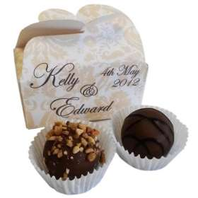 Chocolate Truffle Duo Butterfly Boxes