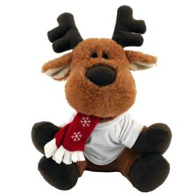 Christmas Plush Tee Shirt Reindeer