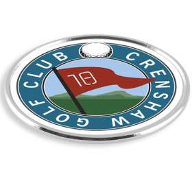 Golfers Chrome Ball Markers