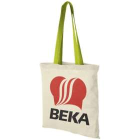 Product Image of Coloured Handle Cotton Tote Bags