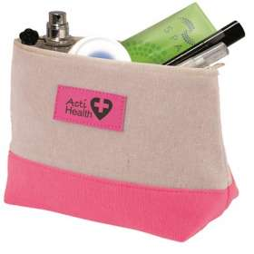 Contrast Toiletry Bags