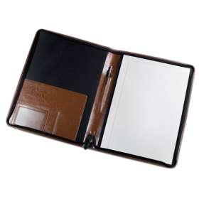 Darwin A4 PU Zipped Conference Folders