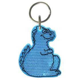 Dinosaur Reflector Keyrings - extra images