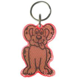 Dog Reflector Keyrings - extra images