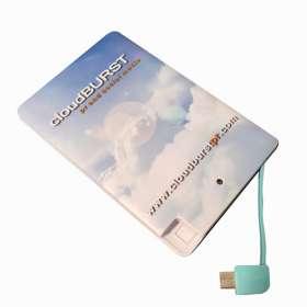 Express 2500mAh Card Power Banks