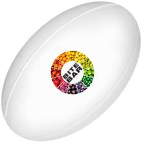 Express Full Colour Stress Rugby Balls