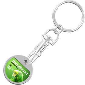 Express Value Trolley Coin Keychains