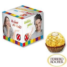 Ferrero Rocher Promo Cubes
