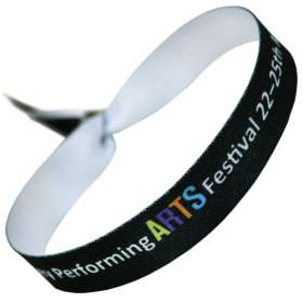 15mm Festival Style Fabric Wristbands