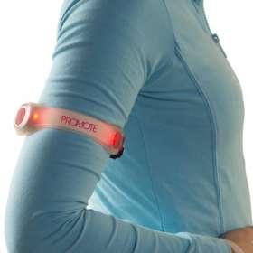Flashing LED Silicon Arm Straps