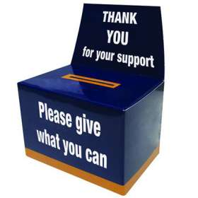 Product Image of Flat Pack Charity Collection Boxes