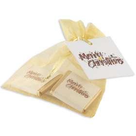 Neapolitan Chocolate Organza Bags