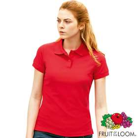 Fruit of the Loom Lady Fit Polo Shirts