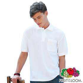 Fruit of the Loom Pocket Polo Shirts
