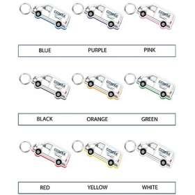 Full Colour Foam Keyrings