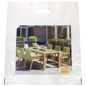 Product Image of Full Colour Polythene Carrier Bags