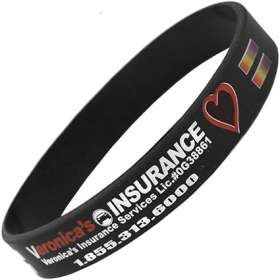 Product Image of Full Colour Silicon Wristbands