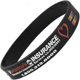Full Colour Silicon Wristbands
