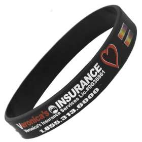 Full Colour Silicon Wristbands