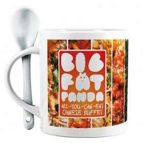 Full Colour Spoon Mugs