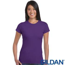Gildan Ladies Soft Style T Shirts
