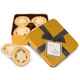 Gold Small Square Mince Pie Tins