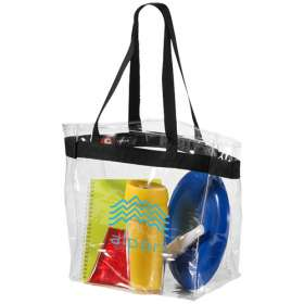 Product Image of Hampton Clear PVC Tote Bags