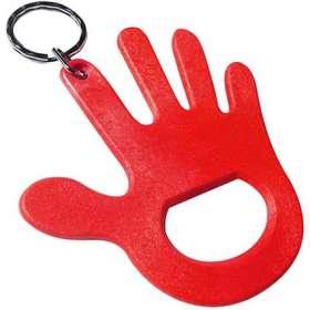 Hand Bottle Opener Keyrings