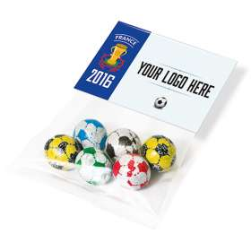 Header Card Football Chocolates