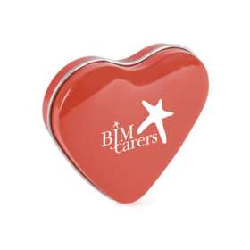 Heart Shaped Mint Tins