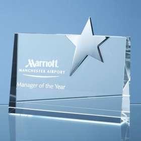 Horizontal Optical Crystal Star Award