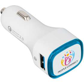 Illuminated Quick Charge USB Car Chargers