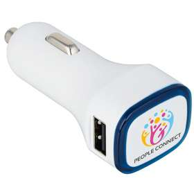 Illuminated USB Car Chargers