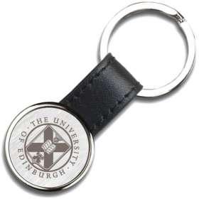 Izu Round Leather Keyrings