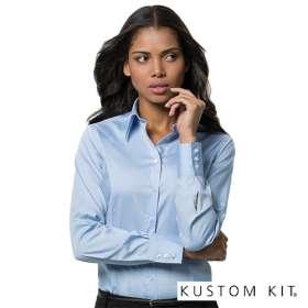 Kustom Kit Ladies Long Sleeve Shirts