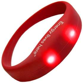 Product Image of LED Silicone Wristbands