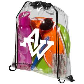 Lancaster Clear PVC Backpacks