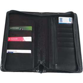 Leather Look Travel Wallets