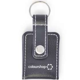 Leatherette Picture Keyrings