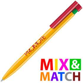 Mix and Match Colour Liberty Ballpens