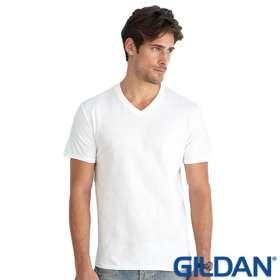 Mens Gildan V Neck T Shirts
