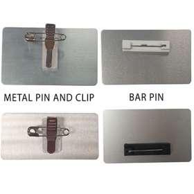 Metal Staff Name Badges