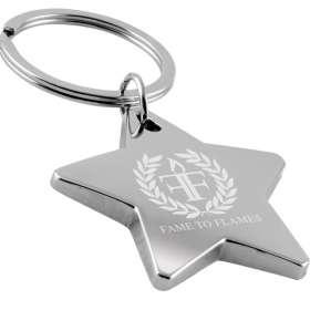 Metal Star Keyrings