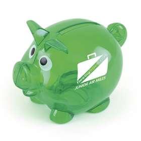 Mini Translucent Piggy Banks