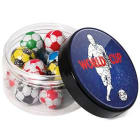 Mini Chocolate Football Jars