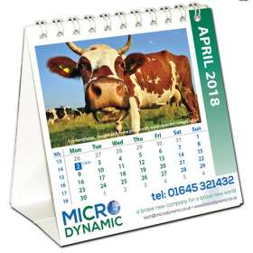 Mini Easel Calendars