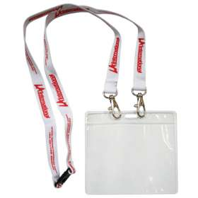 Open End Lanyard with Pass Holder
