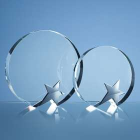 Optical Crystal Circle Star Awards